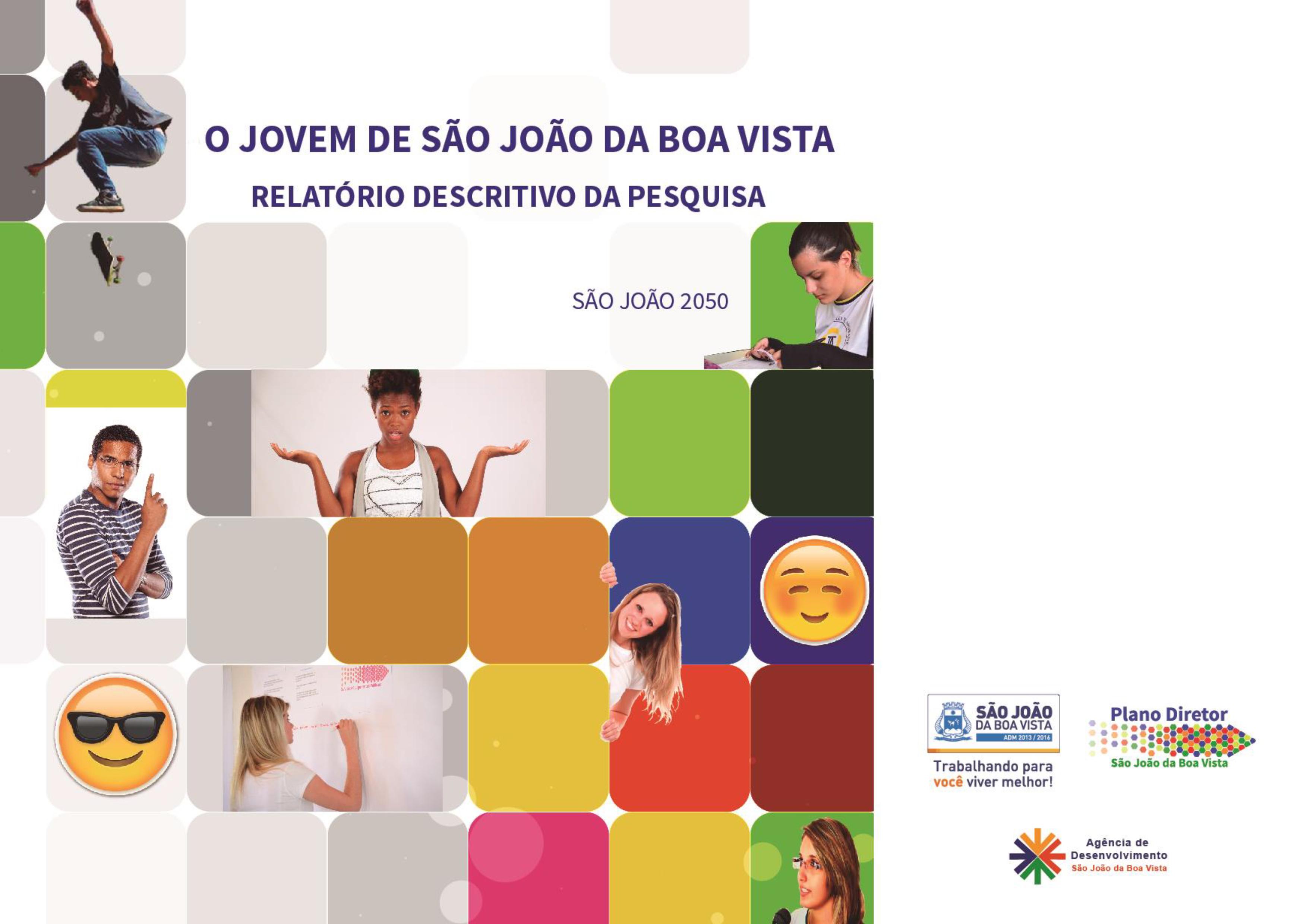 RELATÓRIO DESCRITIVO - PESQUISA O JOVEM DE SÃO JOÃO DA BOA VISTA